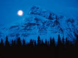 Snowy Mountain Photographic Print by Peter Lilja