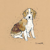 Doggy Tales III Prints by Clare Ormerod
