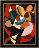 Composition, c.1936 Art par Auguste Herbin