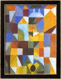 Stadische Komposition Poster von Paul Klee