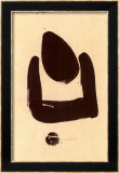 37 Pollination Symbol I (Cista), c.1937 Print by Julius Bissier