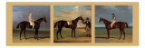 Equestrian Panel Prints by  J.F. Herring & J. Ferneley