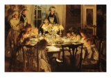 Grandmother's Birthday Giclee Print by John Henry Lorimar