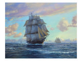 Empress of the Seas Premium gicléedruk van Roy Cross