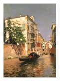 Venetian Summer Giclee Print by Rubens Santoro