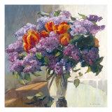 Lilacs Giclee Print by Valeriy Chuikov