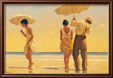Verr&#252;ckte Hunde Kunstdruck von Jack Vettriano
