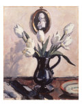 Tulips Print by Francis Cadell