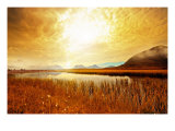 Amber Valley Giclee Print by Andreas Stridsberg