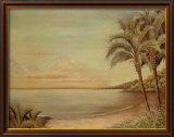 Sunset Beach II Prints by Cheryl Kessler-Romano