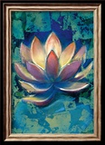Lotus II Lmina gicle enmarcada por Marcella Rose
