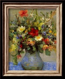 Summer Bouquet Posters by Marcel Dyf