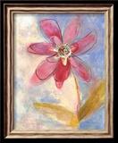 Whimsical Flower II Poster by Robbin Rawlings