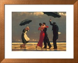 The Singing Butler Poster by Jack Vettriano