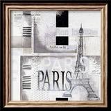 Paris Plakat af Marie Louise Oudkerk