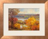 Sfumature d'autunno Stampa di Kent Wallis