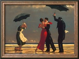 Der singende Butler Kunstdrucke von Jack Vettriano