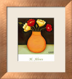 Flores Coloridas II Print by H. Alves