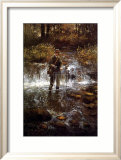 That Elusive Trout Print by Clive Madgwick