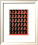 Red Elvis, c.1962 Posters par Andy Warhol