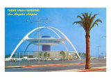 Theme Building, LAX, Art Print