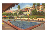 Beverly Hills Hotel and Bungalows, Los Angeles, California Prints