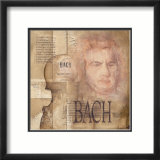Tribute to Bach Posters by Marie Louise Oudkerk