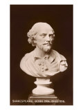 Bust of Shakespeare Print