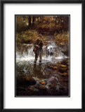 That Elusive Trout Poster by Clive Madgwick