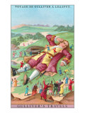 Scene from Gulliver's Travels Poster