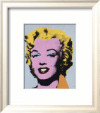 Marilyn, c.1964 (On Light Gray-Blue) Posters by Andy Warhol