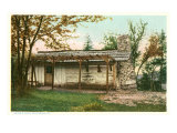 Daniel Boone Cabin, High Bridge, Kentucky, Art Print