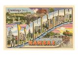 Greetings from Manhattan, Kansas Poster
