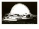 Night, Hollywood Bowl, Los Angeles, California Posters