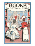 Books for Boys and Girls, Bookseller Pósters