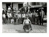 Mexican Dancing Girl, Olvera Street, Los Angeles, California Prints