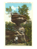 Balanced Rock, State Park, Kentucky Posters