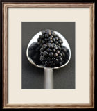 Blackberries and Spoon Posters by Sara Deluca