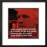 Bill Shankly: Football Kunstdruck