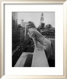 Marilyn Monroe at the Ambassador Hotel, New York, c.1955 Affiche par Ed Feingersh
