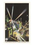 Night, Movie Premiere, Grauman's, Hollywood, California Posters