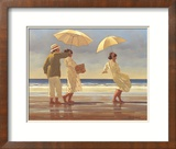 The Picnic Party II Art by Jack Vettriano