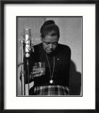 Billie Holiday, Last Recording Session Prints by Milt Hinton