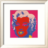 Marilyn, c.1967 (On Red) Prints by Andy Warhol