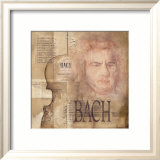 Tribute to Bach Kunst van Marie Louise Oudkerk