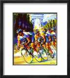 Victory on the Champs-Elysees Art par Malcolm Farley