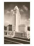 City Hall, Los Angeles, California Print