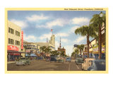 Colorado Street, Pasadena, California Prints