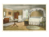 Bedroom, House of the Seven Gables, Salem, Massachusetts Prints