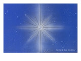 Peace on Earth, Star Giclee Print